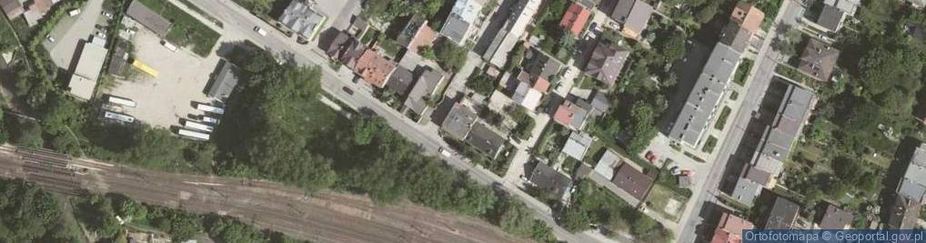 Zdjęcie satelitarne Żułowska ul.