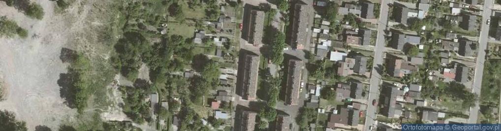 Zdjęcie satelitarne Związkowa ul.