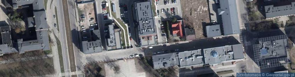 Zdjęcie satelitarne Żwirki Franciszka, kpt. pil. ul.
