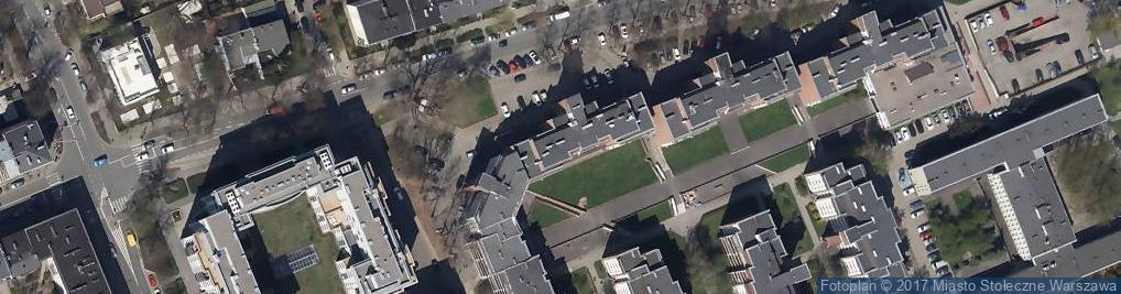 Zdjęcie satelitarne Zwycięzców ul.