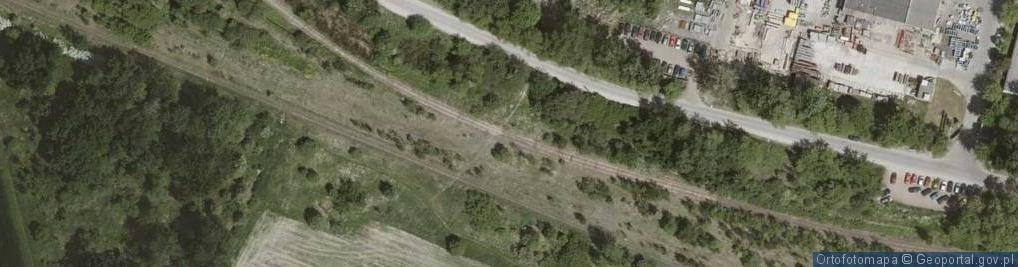 Zdjęcie satelitarne Zwrotnicza ul.