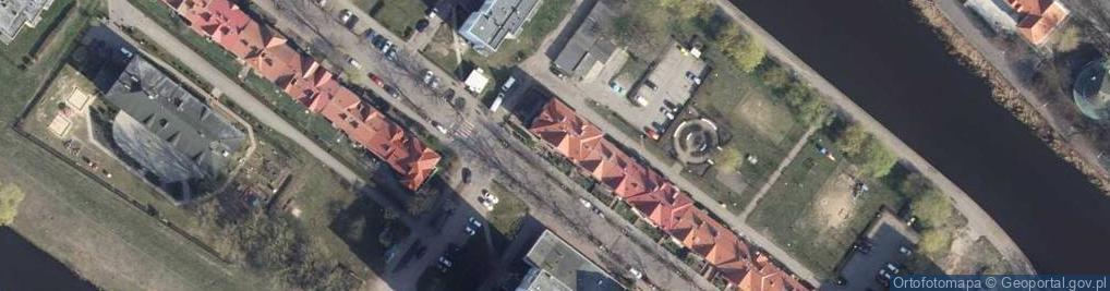 Zdjęcie satelitarne Zygmuntowska ul.