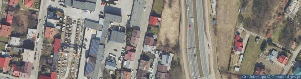Zdjęcie satelitarne Zyblikiewicza Mikołaja ul.