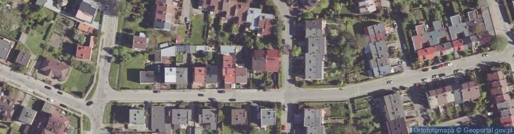 Zdjęcie satelitarne Żyzna ul.