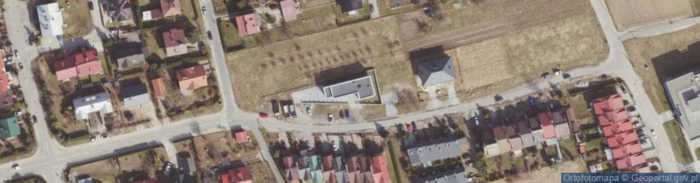Zdjęcie satelitarne Zygmunta I Starego ul.