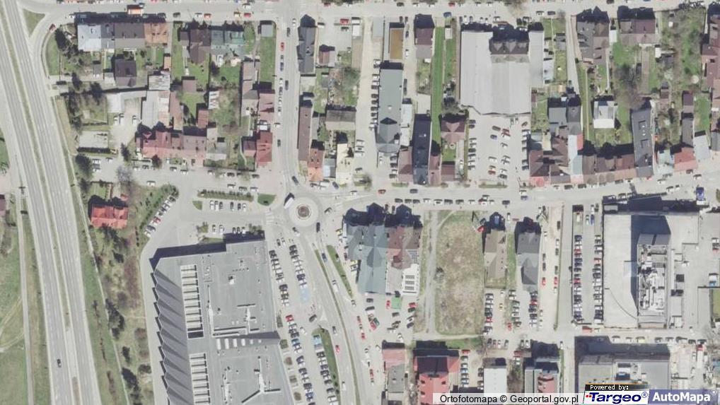 e70d59f8cd Zdjęcie satelitarne Królowej Jadwigi ul.