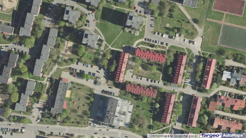 7225f1859033fb Zdjęcie satelitarne Upalna ul. Upalna 34
