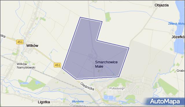 gmina Namysłów - powiat namysłowski na mapie Targeo