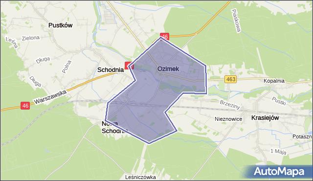 gmina Ozimek - powiat opolski na mapie Targeo