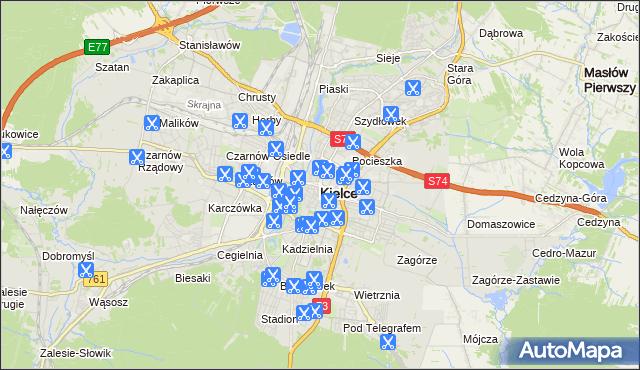 Fryzjer W Kielcach Usługi Na Mapie Targeo