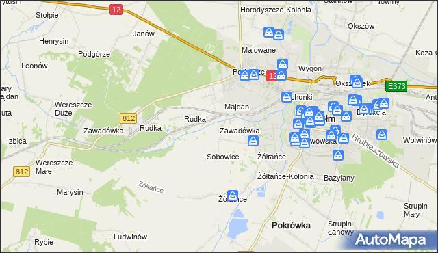 Handel Usługi W Zawadówka Gmina Chełm Na Mapie Targeo