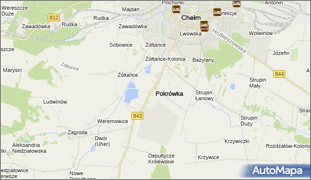 mapa Pokrówka, Pokrówka na mapie Targeo