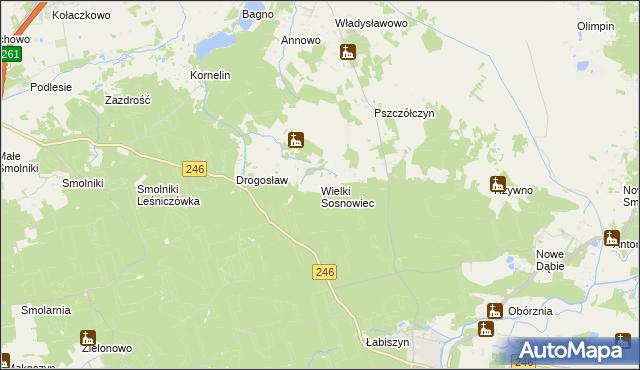 mapa Wielki Sosnowiec, Wielki Sosnowiec na mapie Targeo