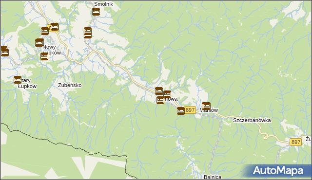 mapa Wola Michowa, Wola Michowa na mapie Targeo