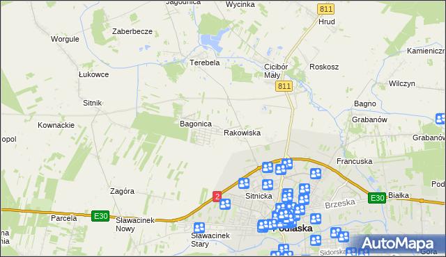 Usługi W Rakowiska Gmina Biała Podlaska Handel Usługi Na Mapie