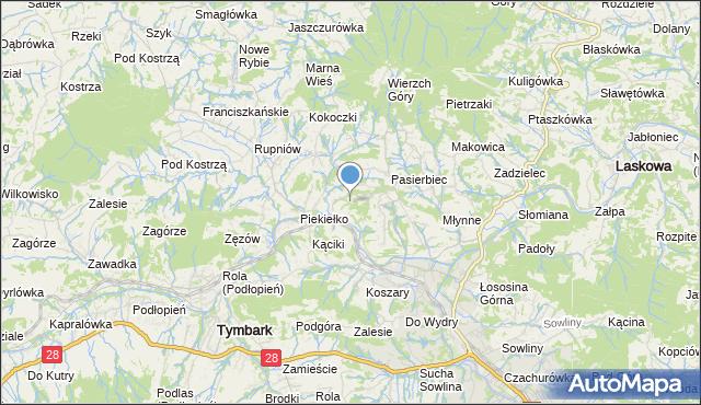 mapa Bałażówka, Bałażówka na mapie Targeo