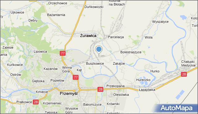mapa Buszkowiczki, Buszkowiczki na mapie Targeo