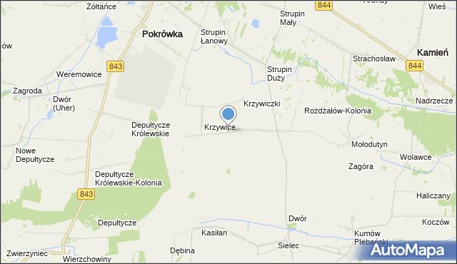 mapa Rożdżałów, Rożdżałów na mapie Targeo