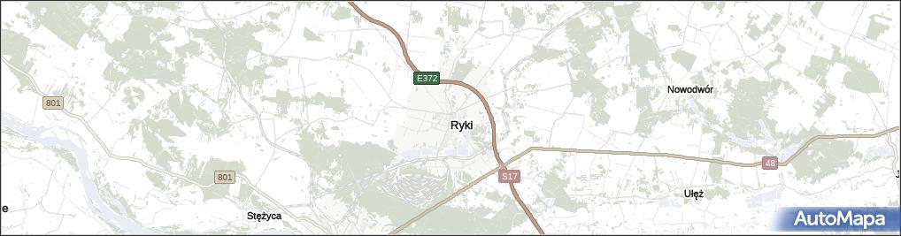 Mapa Ryki Ryki Na Mapie Targeo