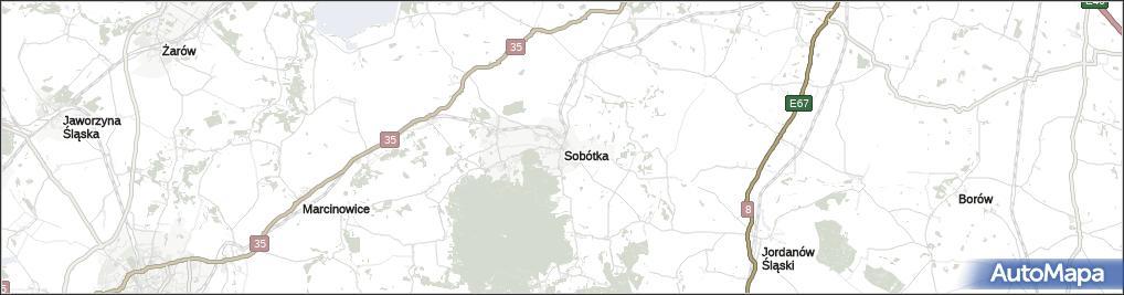 Mapa Sobotka Sobotka Powiat Wroclawski Na Mapie Targeo