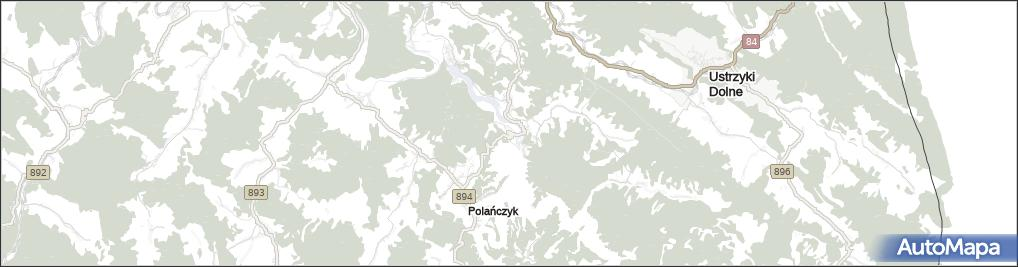 Mapa Solina Solina Na Mapie Targeo