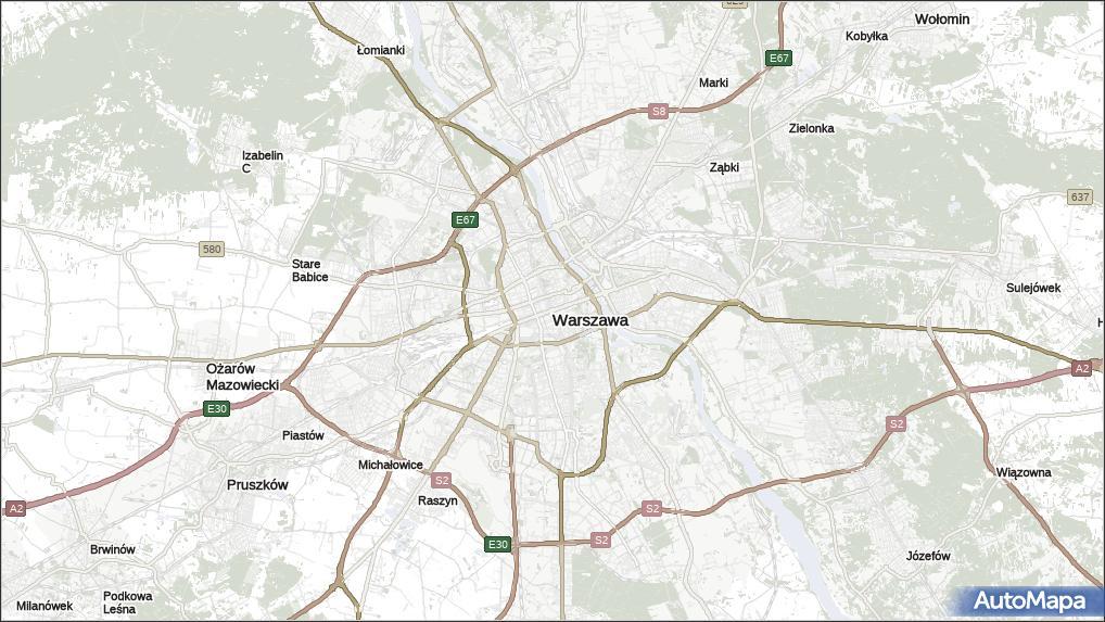 Korki Warszawa