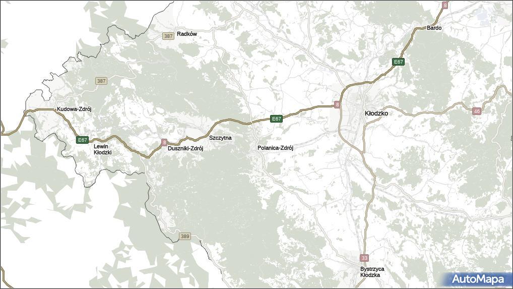 Mapa Polanica Zdrój Polanica Zdrój Na Mapie Targeo