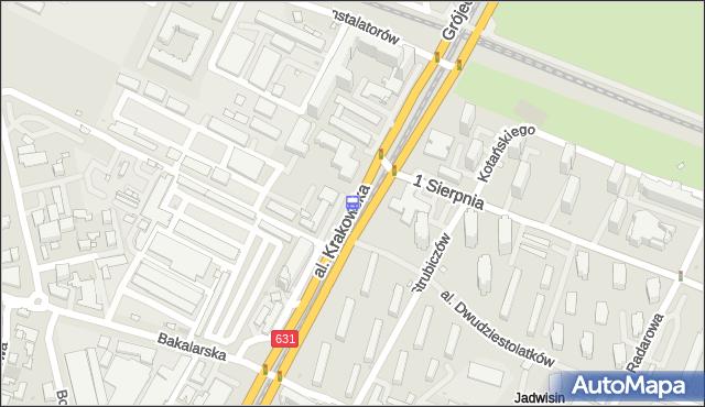 Przystanek 1 Sierpnia 02. ZTM Warszawa - Warszawa (id 400902) na mapie Targeo