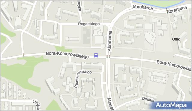 Przystanek Abrahama 02. ZTM Warszawa - Warszawa (id 214502) na mapie Targeo