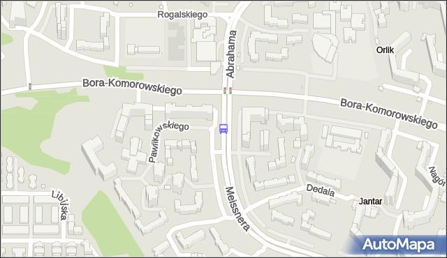 Przystanek Abrahama 04. ZTM Warszawa - Warszawa (id 214504) na mapie Targeo