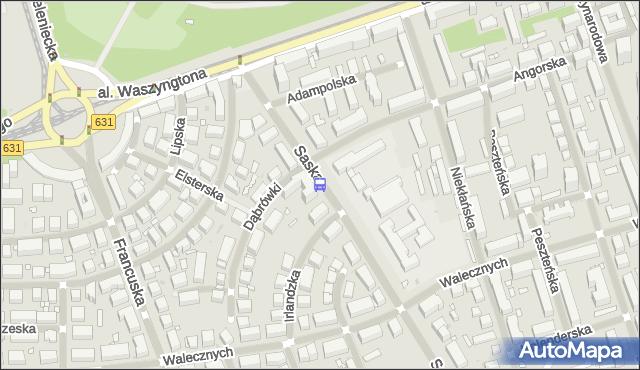 Przystanek Adampolska 01. ZTM Warszawa - Warszawa (id 213801) na mapie Targeo