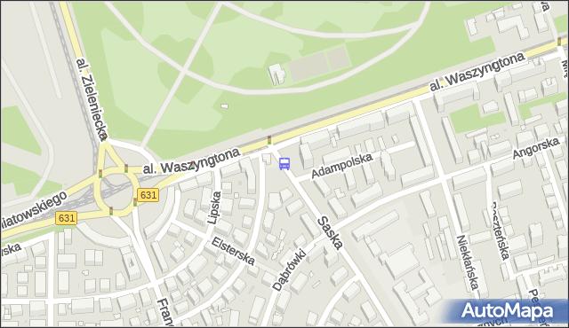 Przystanek Adampolska 02. ZTM Warszawa - Warszawa (id 213802) na mapie Targeo