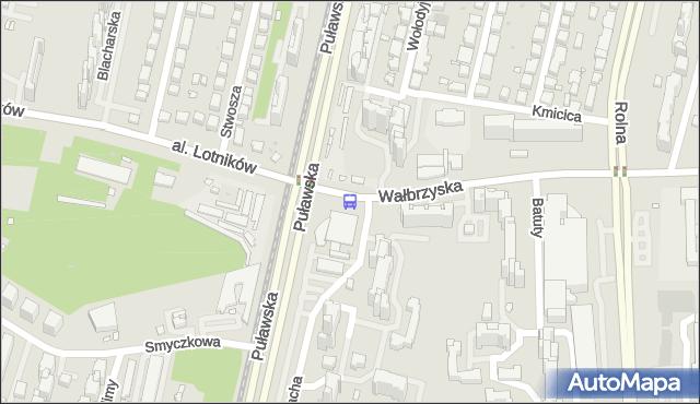 Przystanek al.Lotników 05. ZTM Warszawa - Warszawa (id 301105) na mapie Targeo