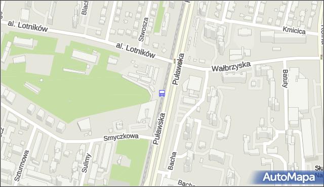 Przystanek al.Lotników 07. ZTM Warszawa - Warszawa (id 301107) na mapie Targeo