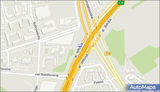 Przystanek al.Witosa 03. ZTM Warszawa - Warszawa (id 306003) na mapie Targeo