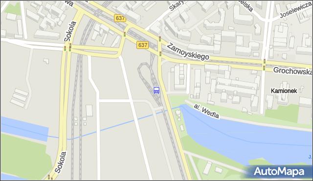 Przystanek al.Zieleniecka 07. ZTM Warszawa - Warszawa (id 200107) na mapie Targeo
