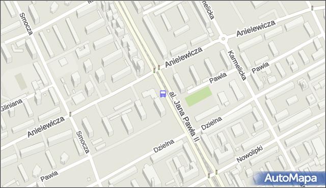Przystanek Anielewicza 01. ZTM Warszawa - Warszawa (id 708301) na mapie Targeo