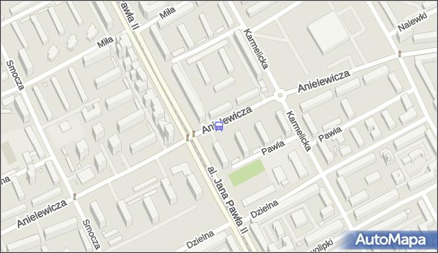 Przystanek Anielewicza 03. ZTM Warszawa - Warszawa (id 708303) na mapie Targeo