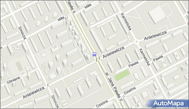 Przystanek Anielewicza 05. ZTM Warszawa - Warszawa (id 708305) na mapie Targeo