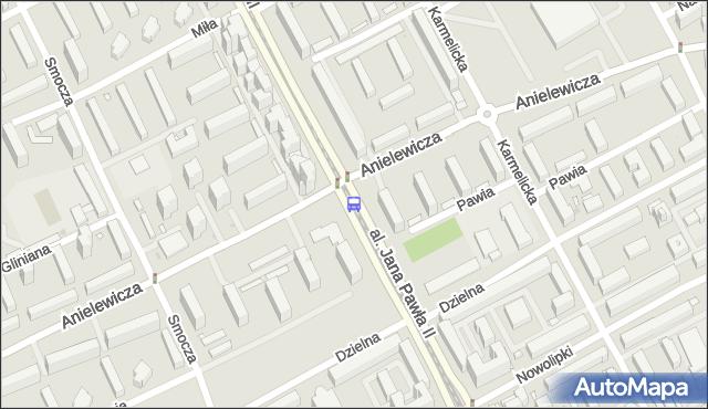 Przystanek Anielewicza 06. ZTM Warszawa - Warszawa (id 708306) na mapie Targeo