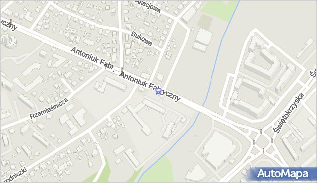 Przystanek ANTONIUK FABRYCZNY/OGRODNICZKI. BKM - Białystok (id 3) na mapie Targeo