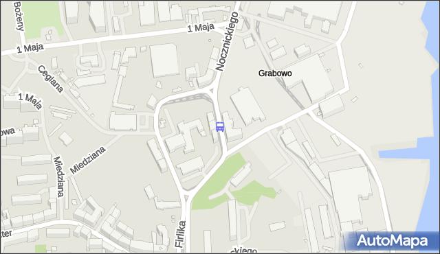 Przystanek Antosiewicza 11. ZDiTM Szczecin - Szczecin (id 16511) na mapie Targeo