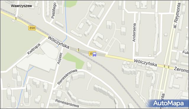 Przystanek Aspekt 01. ZTM Warszawa - Warszawa (id 602401) na mapie Targeo