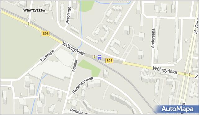 Przystanek Aspekt 02. ZTM Warszawa - Warszawa (id 602402) na mapie Targeo