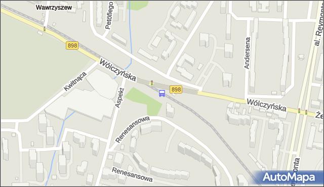 Przystanek Aspekt 03. ZTM Warszawa - Warszawa (id 602403) na mapie Targeo