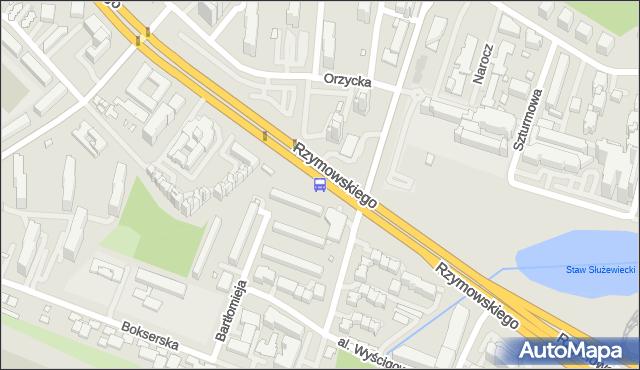 Przystanek Bartłomieja 01. ZTM Warszawa - Warszawa (id 324701) na mapie Targeo