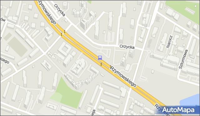 Przystanek Bartłomieja 02. ZTM Warszawa - Warszawa (id 324702) na mapie Targeo