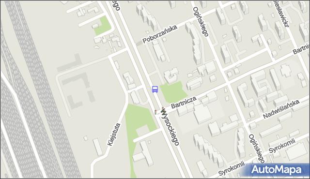 Przystanek Bartnicza 02. ZTM Warszawa - Warszawa (id 115702) na mapie Targeo