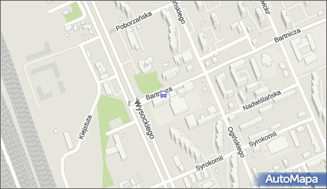 Przystanek Bartnicza 04. ZTM Warszawa - Warszawa (id 115704) na mapie Targeo