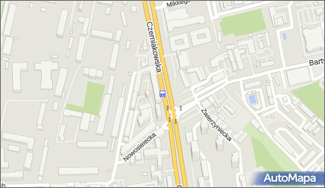Przystanek Bartycka 01. ZTM Warszawa - Warszawa (id 305701) na mapie Targeo